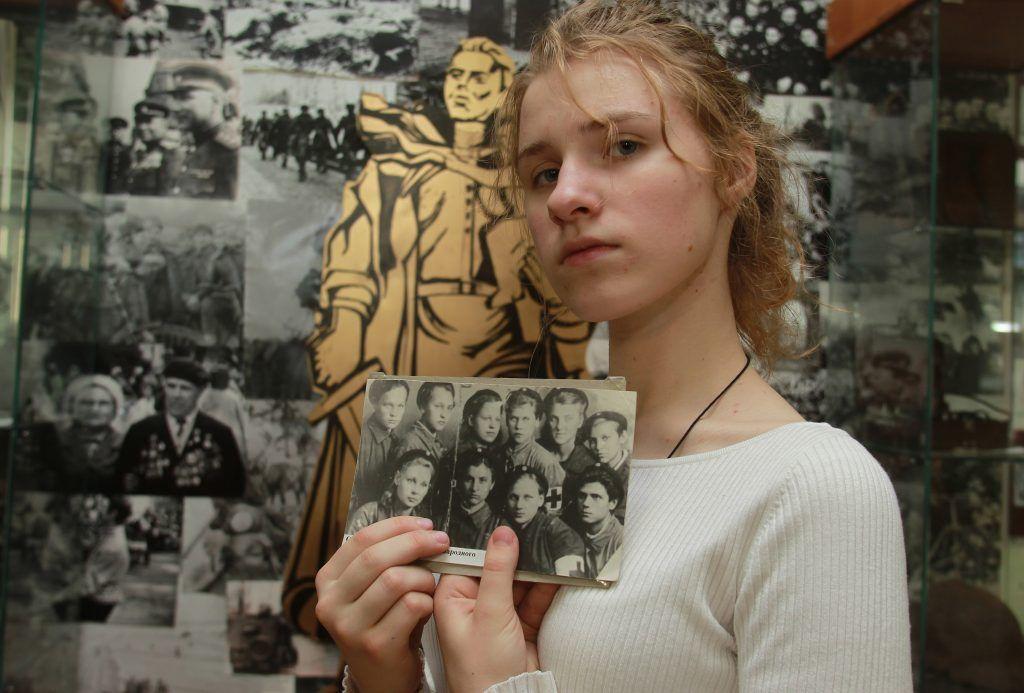 Столичные школьники посетят «Урок мужества». Фото: Наталия Нечаева, «Вечерняя Москва»