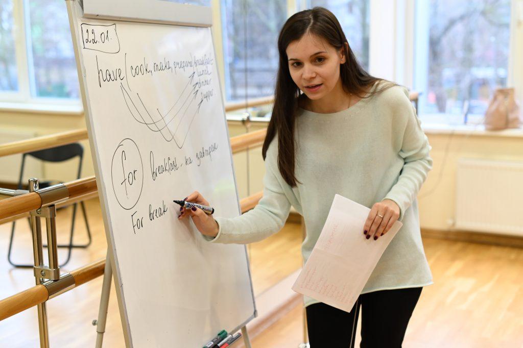 Участники «Московского долголетия» практикуют разговорный английский