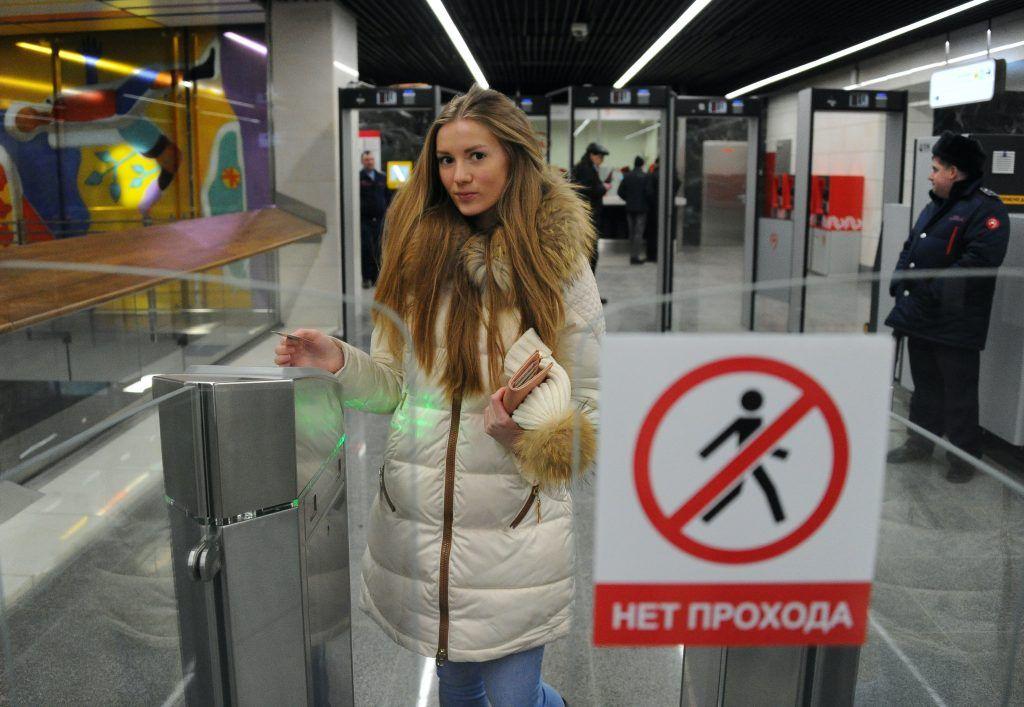 Внедрение системы распознавания лиц в метро завершат к сентябрю
