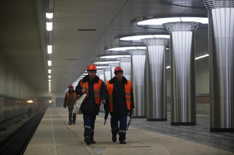 Девять станций метро откроют в Москве в этом году