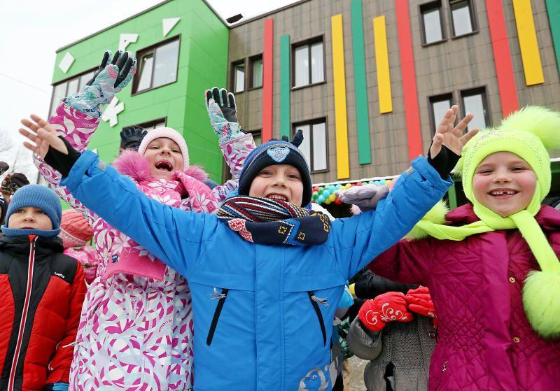 Сто детских садов и школ построят в Москве за три года