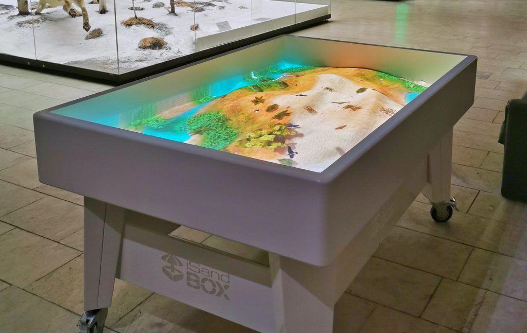 Природа и технологии: песок превратится в моря и вулканы в Дарвиновском музее. Фото предоставили в пресс-службе Дарвиновского музея