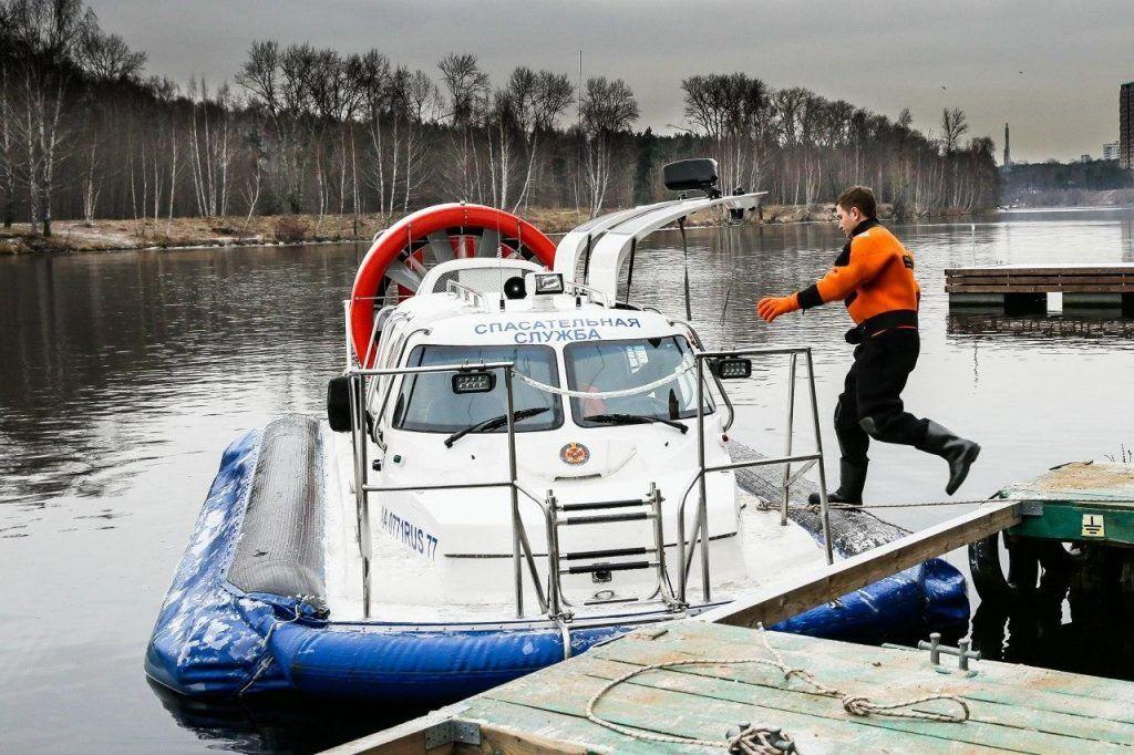 Спасатели опробуют новую систему оповещения на столичных водоемах