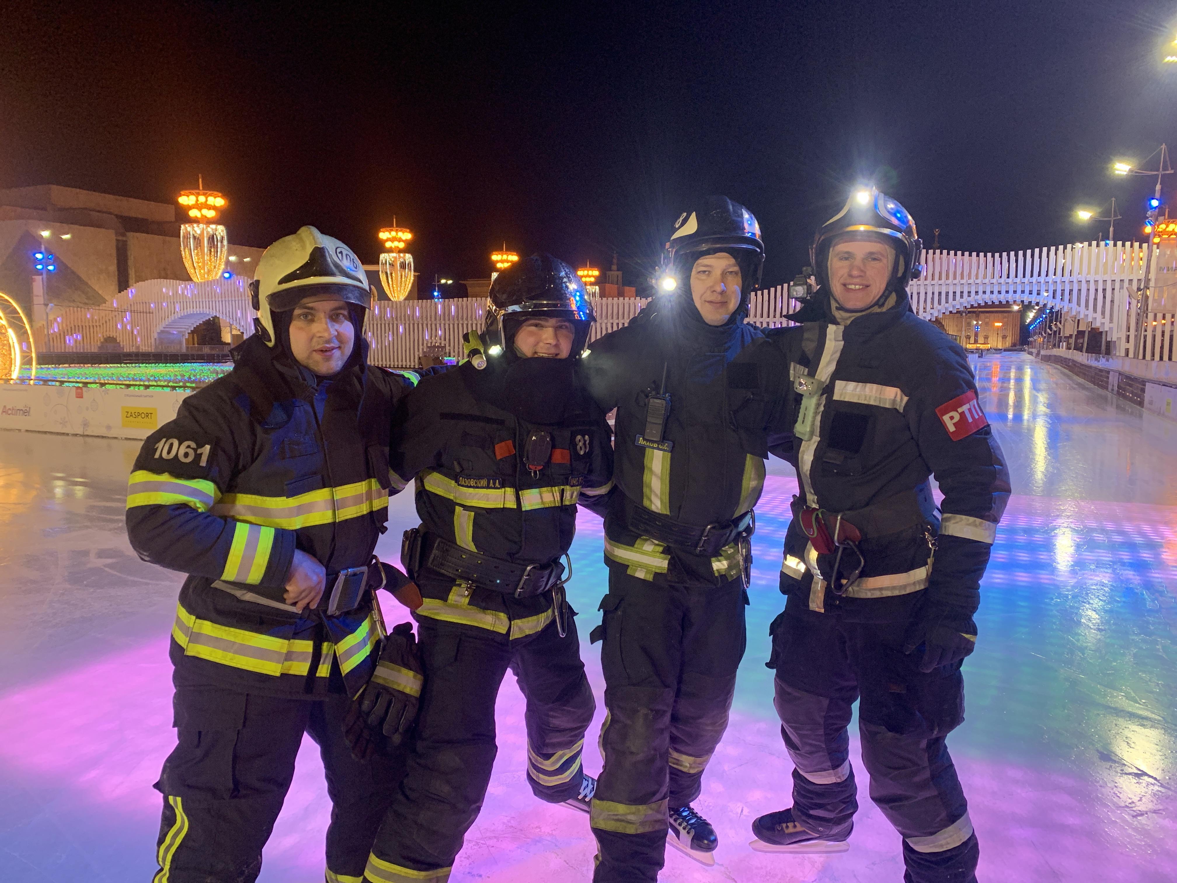 Флешмоб московских огнеборцев «Растопим лед вместе» пройдет на ВДНХ