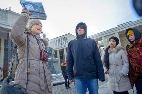 Около трех с половиной тысяч москвичей посетили пешие экскурсии в День гида.Фото: архив, «Вечерняя Москва»