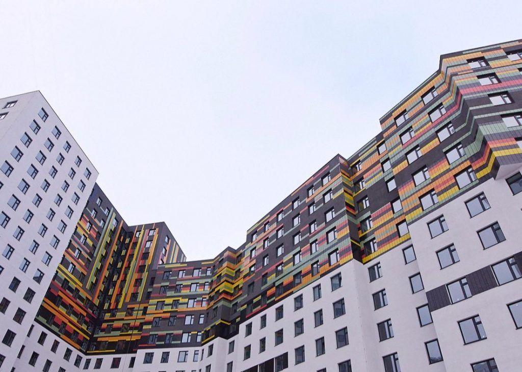 Новое здание жилого комплекса ввели в эксплуатацию на юге