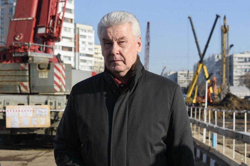 Собянин рассказал о ходе реконструкции Волоколамского шоссе