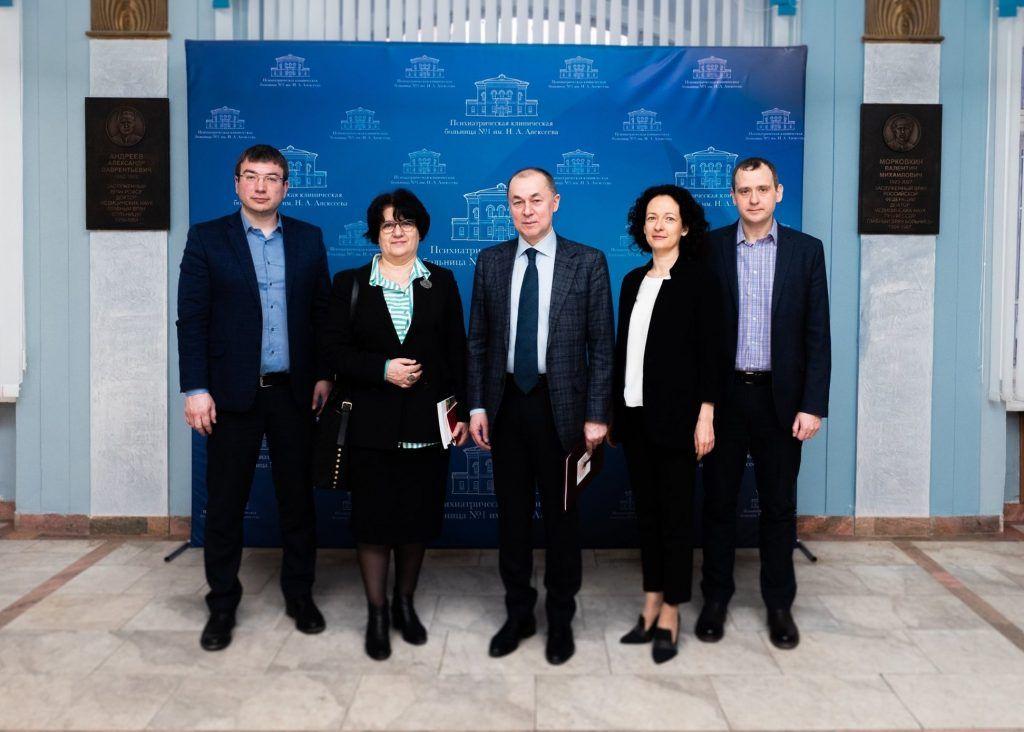 Представитель Всемирной организации здравоохранения Мелита Вуйнович посетила психиатрическую больницу №1