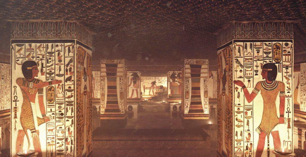 3-D модель Гробницы Нефертари поражает своей реалистичностью. Фото предоставил Андрей Плаксин