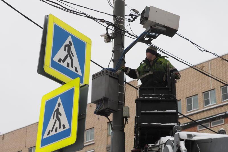 Камеры фиксации нарушений установили еще по 57 адресам в Москве