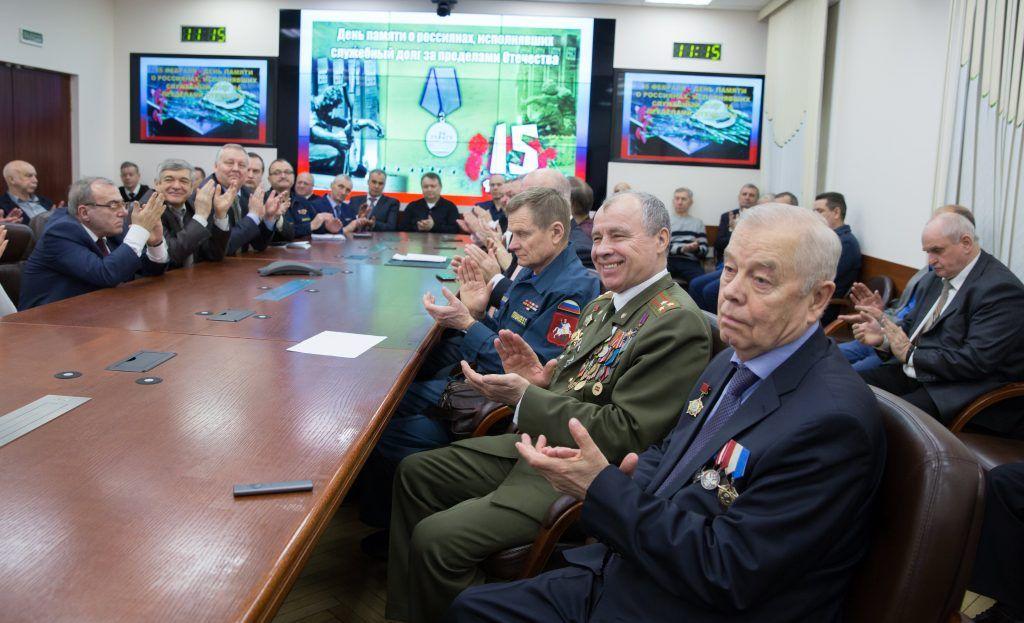 В Департаменте ГОЧСиПБ состоялась традиционная встреча воинов-интернационалистов