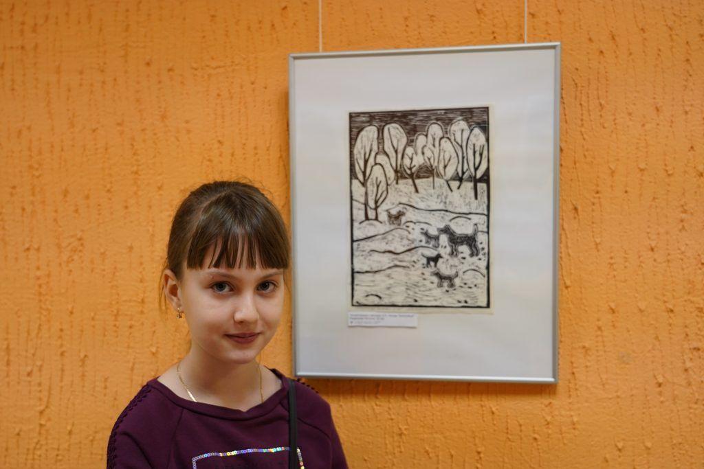Выставку работ участников изостудии «Улей» показали в Культурном центре «Москворечье»
