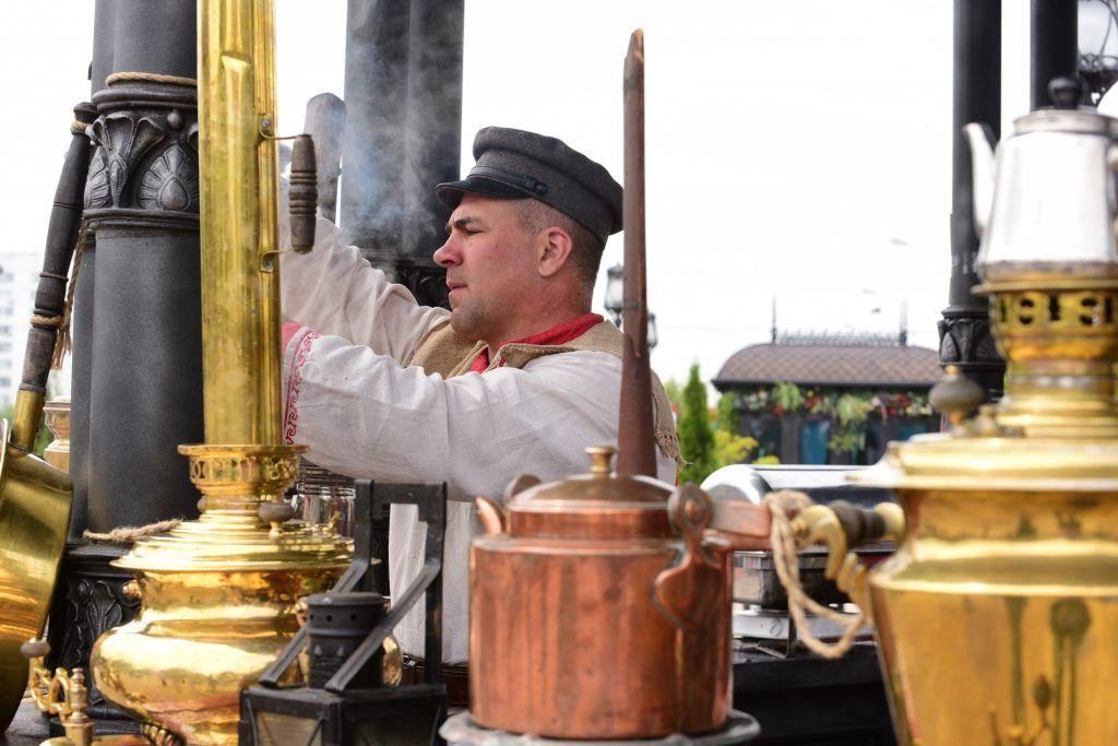 Шлюпку начала ХХ века увидят гости площадки на Ореховом бульваре. Фото: Пелагия Замятина, «Вечерняя Москва»
