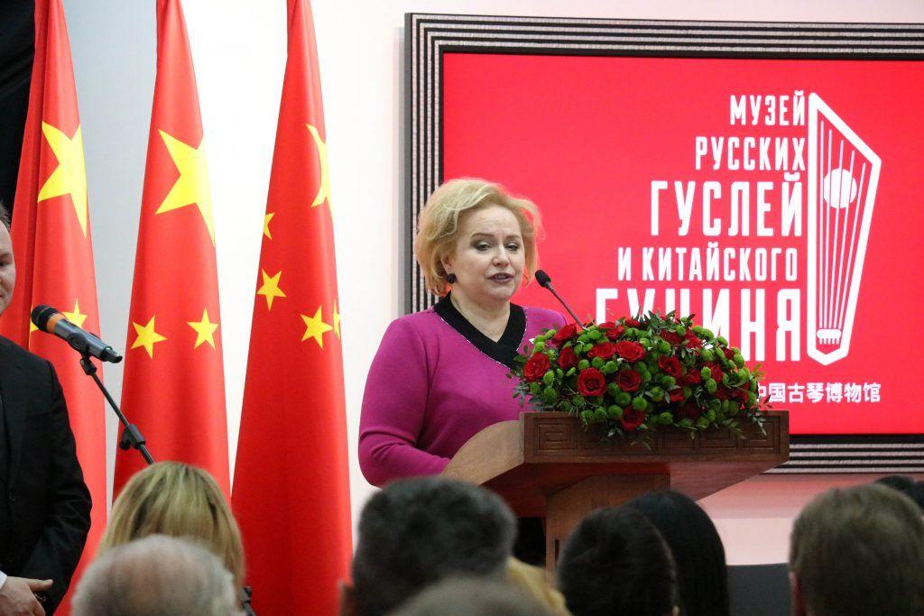 Любовь Духанина: «Наша поддержка и солидарность помогут Китаю победить коронавирус»