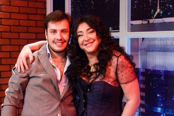 Евгений с эстрадной певицей Лолитой Милявской. Фото из личного архива Евгений Моисеева