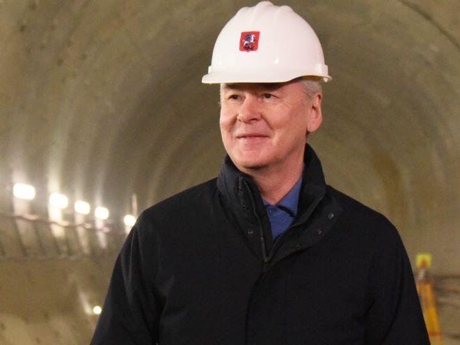 Собянин рассказал о строительстве метро в районе Нагатинский затон