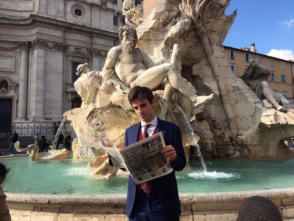 Народный корреспондент: Римские каникулы