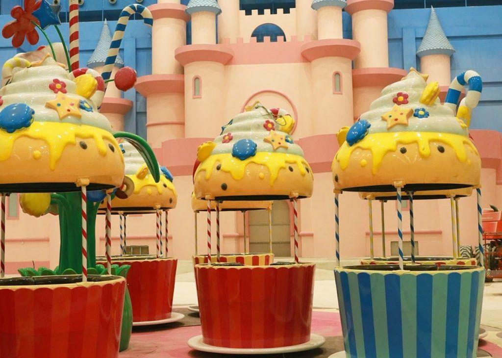 Гости «Острова Мечты» прокатятся на пирожных. Фото предоставили в пресс-службе «Острова Мечты»
