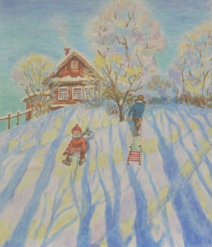 Картина Зои Логиновой