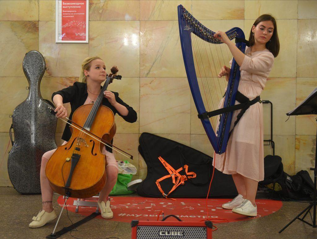 Более 300 заявок на участие в проекте «Музыка в метро» поступило от артистов