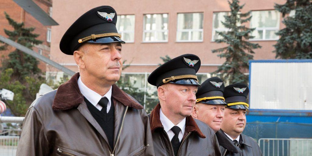 Пилоты Московского авиацентра продолжают славные традиции летчиков ВОВ