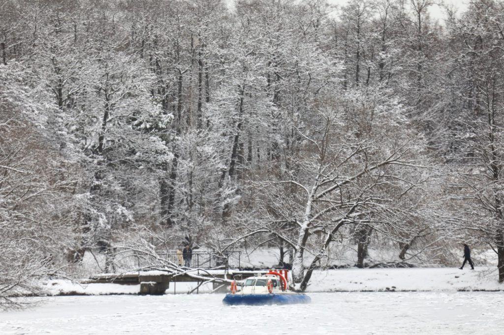 В январе на водных объектах Москвы спасено шесть человек