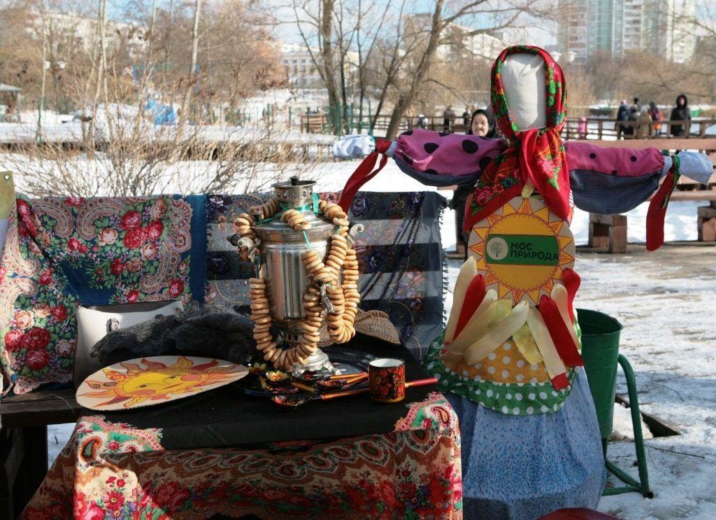 Блинами и народными забавами встретят весну в Бирюлевском дендропарке