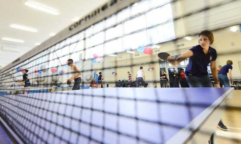 На юго-востоке Москвы реконструируют теннисный центр
