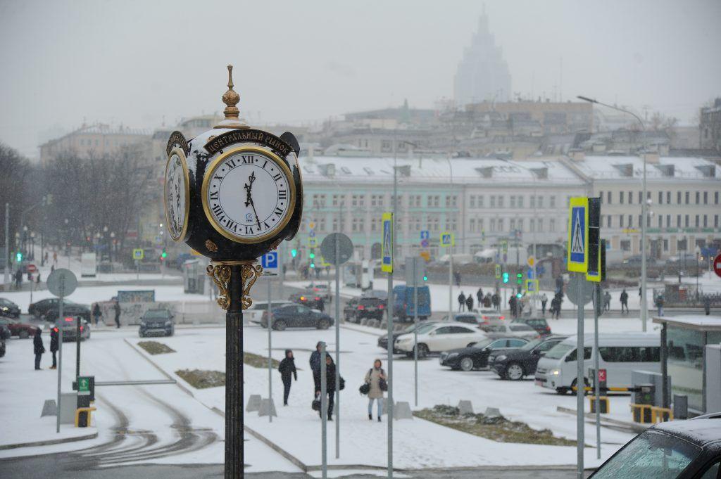 Московские сугробы растают к 1 марта. Фото: Светлана Колоскова