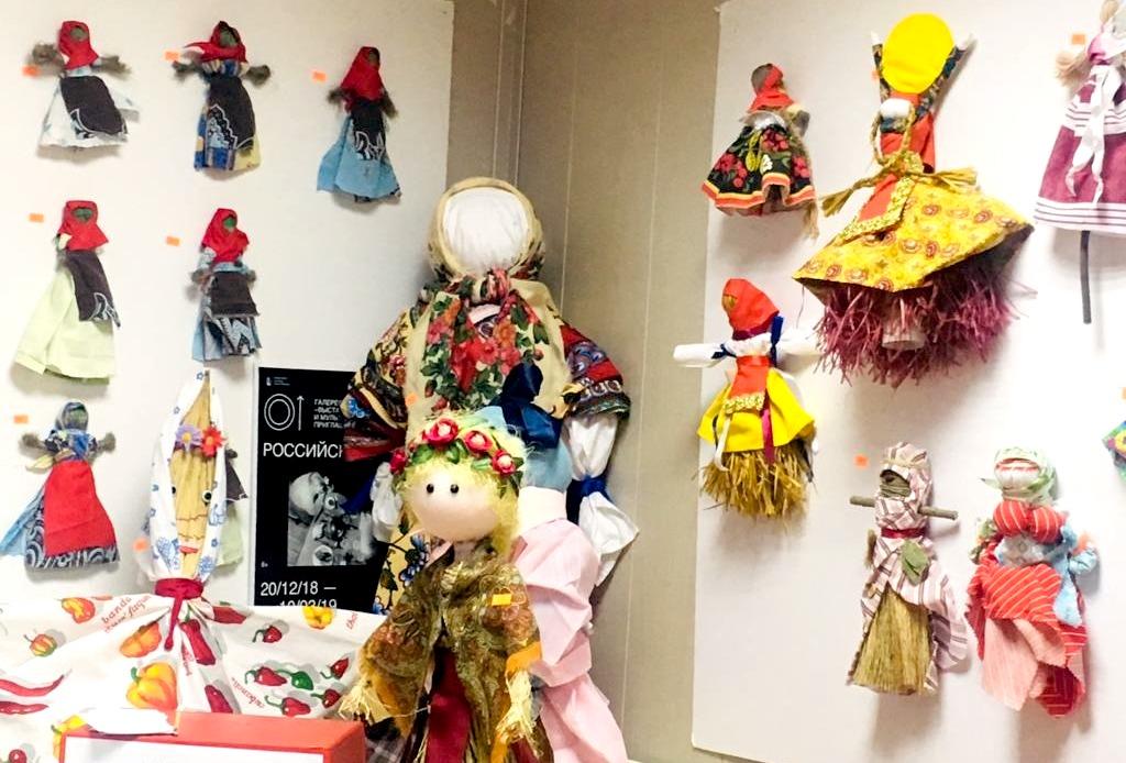 Куклу-оберег к Масленице смастерят в галерее «Загорье»