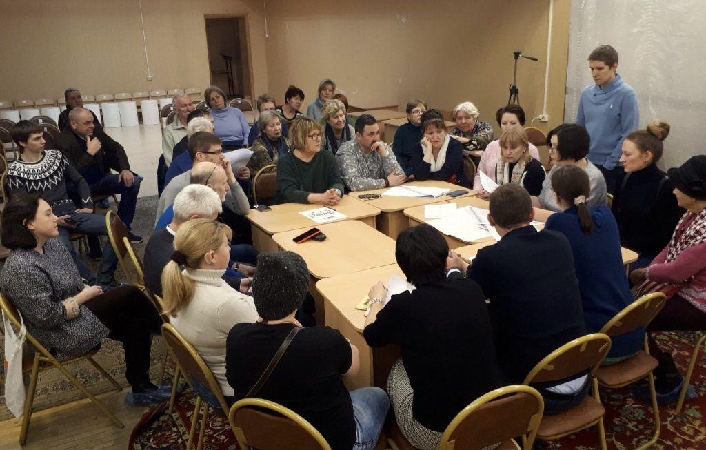 Благоустройство центральной аллеи обсудили в Москворечье-Сабурово