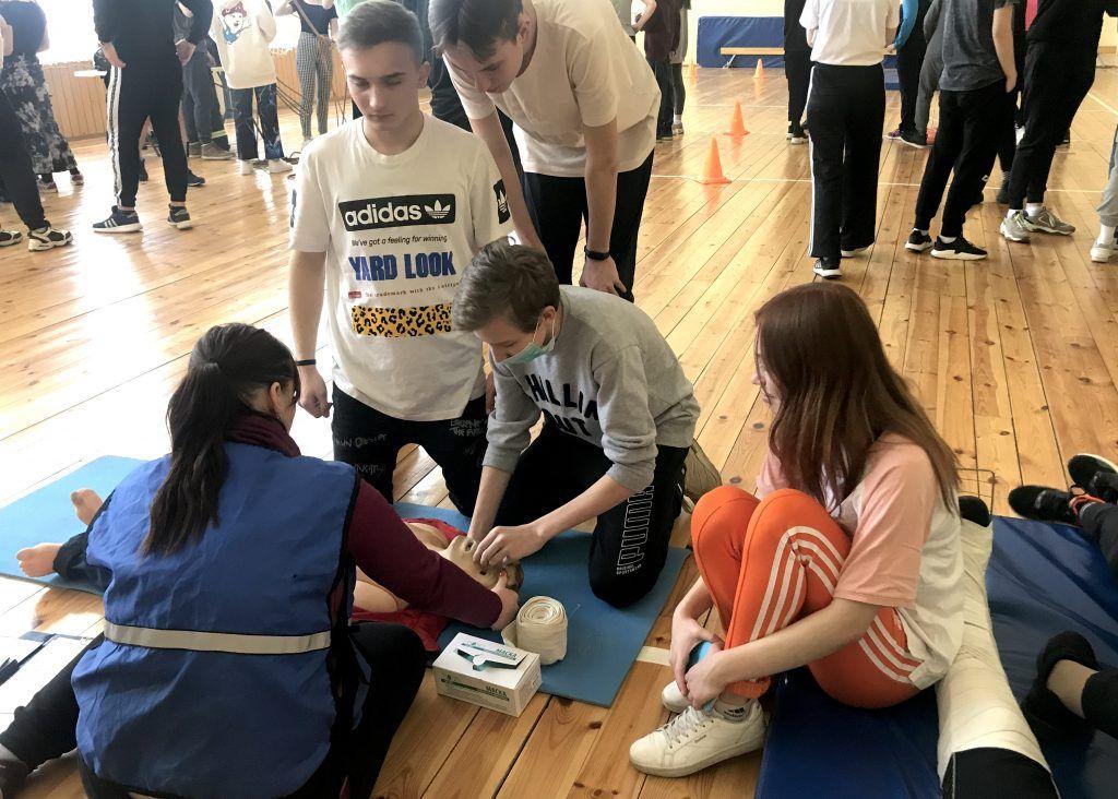 Студенты техникума имени Красина научились справляться с чрезвычайными ситуациями. Фото: сайт техникума