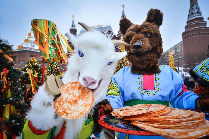 Москвичей пригласили на масленичный карнавал
