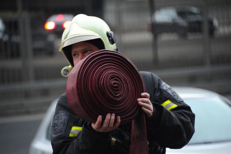 Пожар на юго-западе Москвы ликвидировали