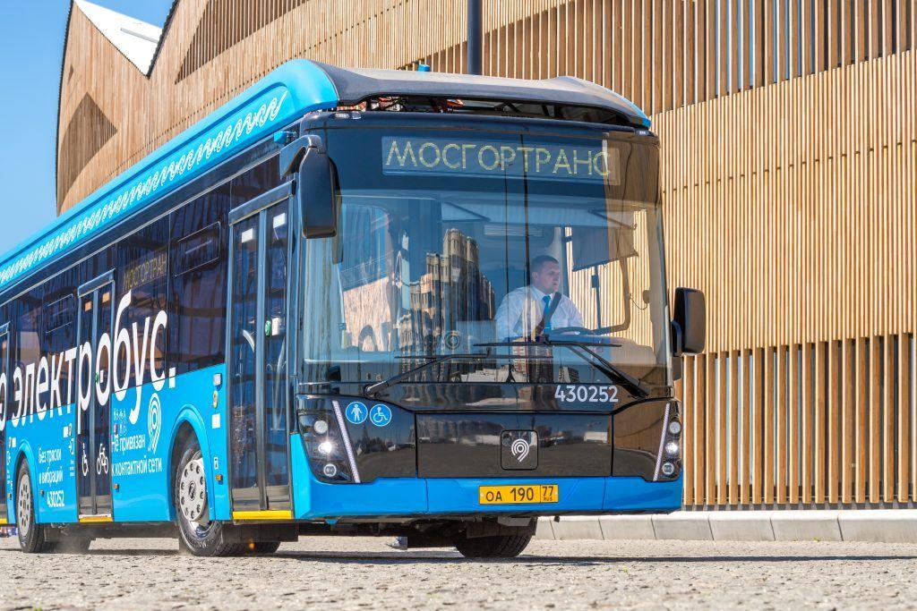 Пассажиропоток электробусов превысил 30 миллионов поездок в Москве