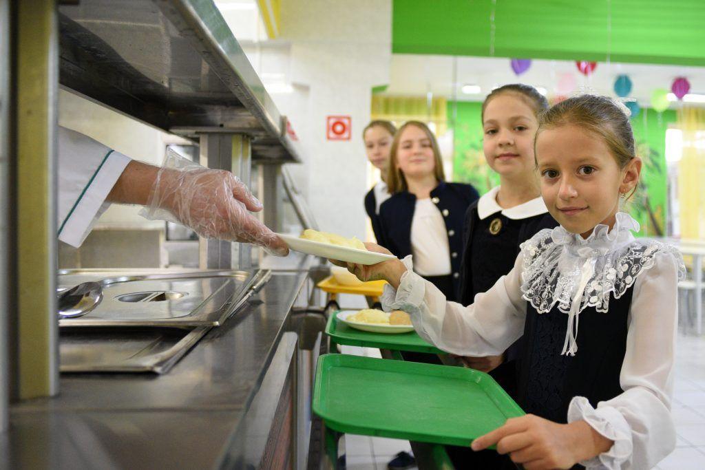 ВЦИОМ представил данные удовлетворенности москвичей качеством школьного питания. Фото: архив, «Вечерняя Москва»