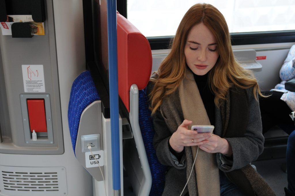 Новые поезда «Иволга» на МЦД получат 430 точек бесплатного Wi-Fi