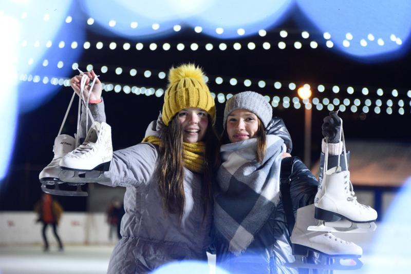 Ледниковый период: жителей столицы пригласили повеселиться на катке