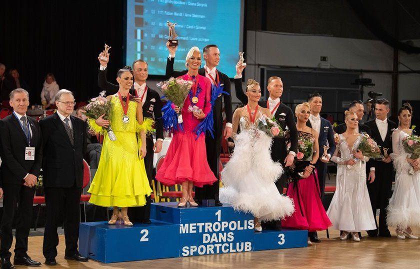 Мировая победа: преподаватель танцев «Северного Чертанова» и ее партнер взяли золото на международных соревнованиях