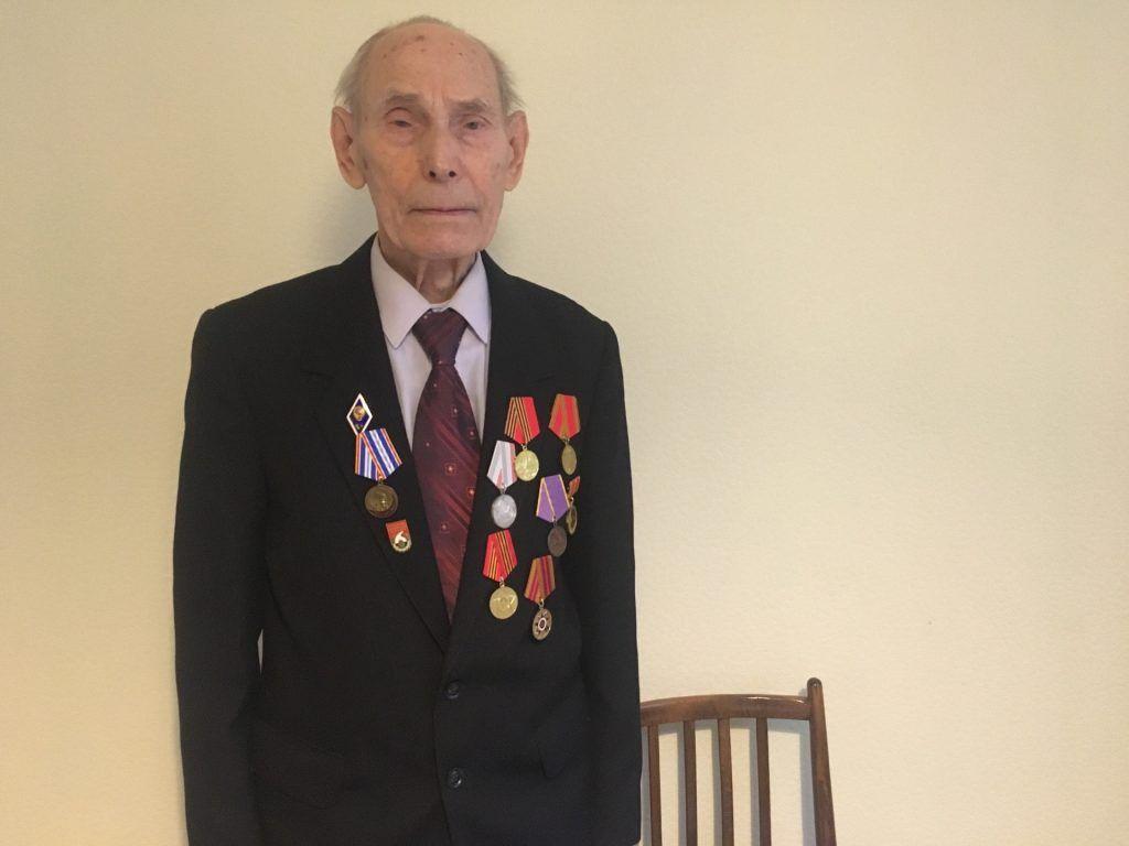 В августе 2020 года ветерану Великой Отечественной войны и почетному жителю Нагорного района исполнится 93 года. Фото: Кристина Дегтярева