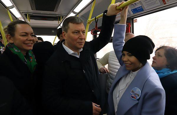 В Раменках появился новый автобусный маршрут