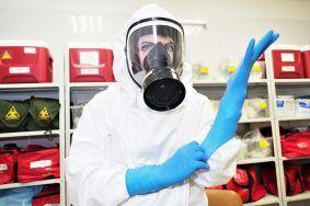 Более 380 человек подхватили коронавирус в Москве. Фото: Антон Гердо
