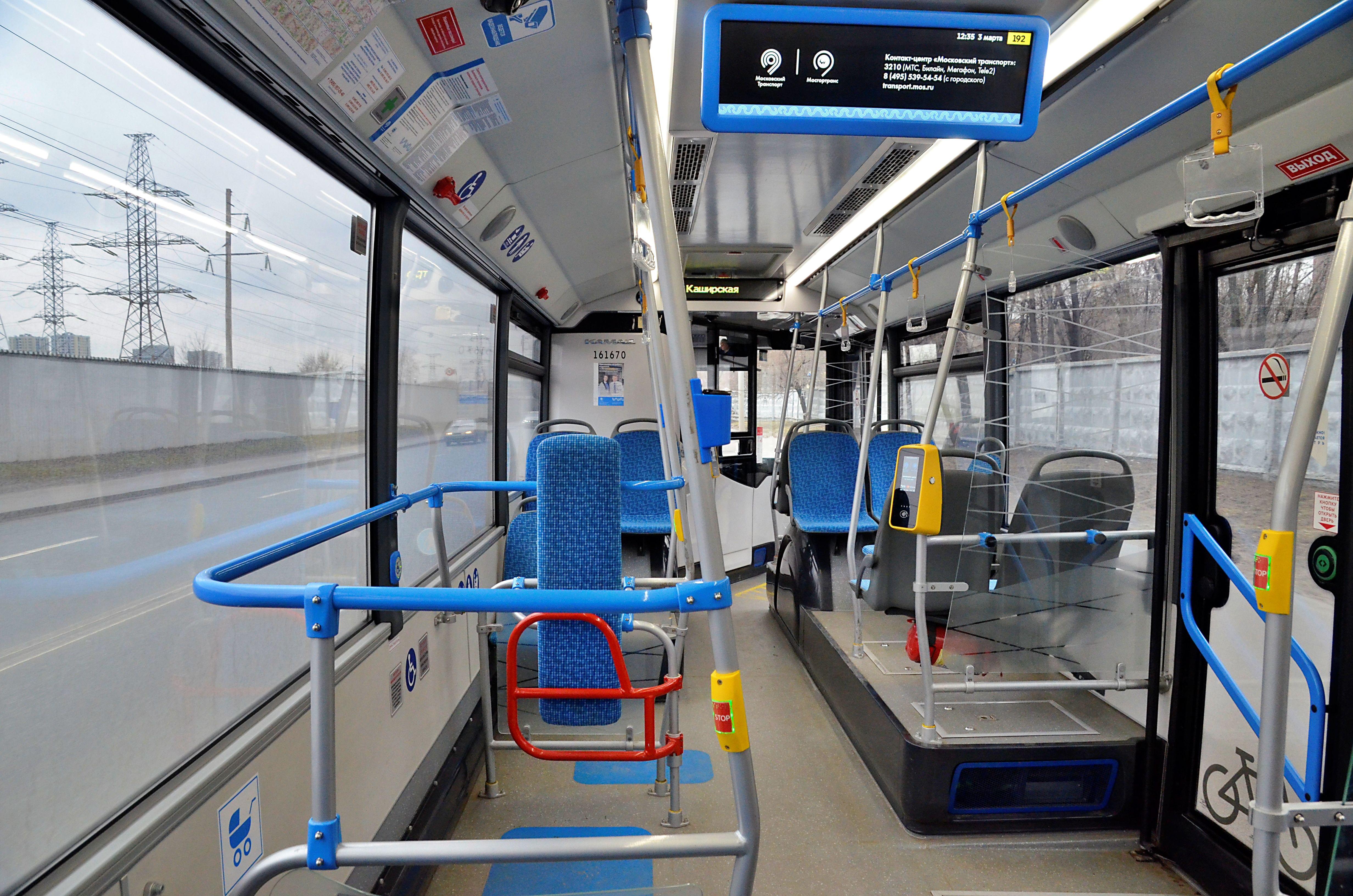 Маршрут автобуса в Даниловском районе изменят