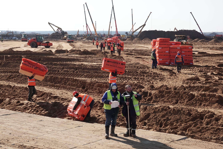 Строительство инфекционного центра в ТиНАО идет беспрецедентно высокими темпами