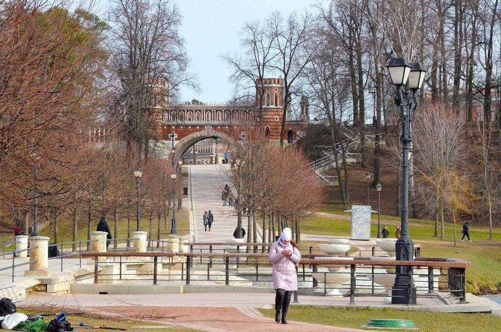 Прогулки отменяются: музеи-заповедники «Царицыно» и «Коломенское» временно закрыли. Фото: Анна Быкова