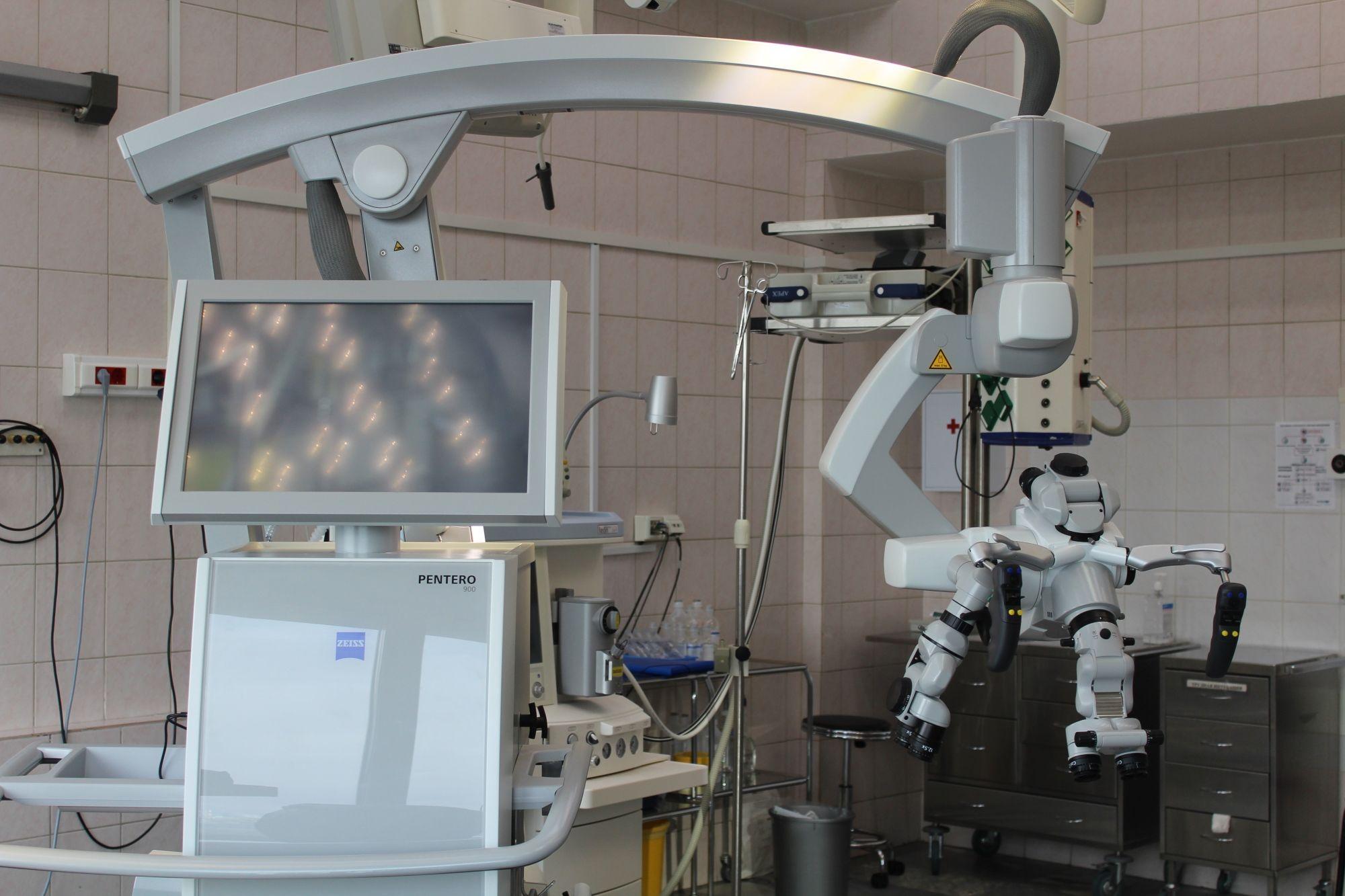 Микроскоп последнего поколения появился в больнице имени Сергея Юдина