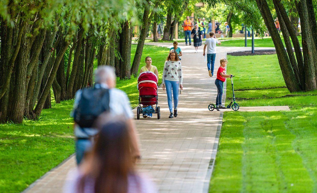 Парк с тематическими маршрутами появится на набережной Москвы-реки