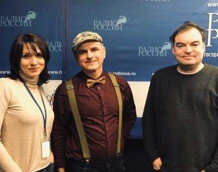 Валентина Петриченко пригласили на радио России, где он рассказал о своей группе