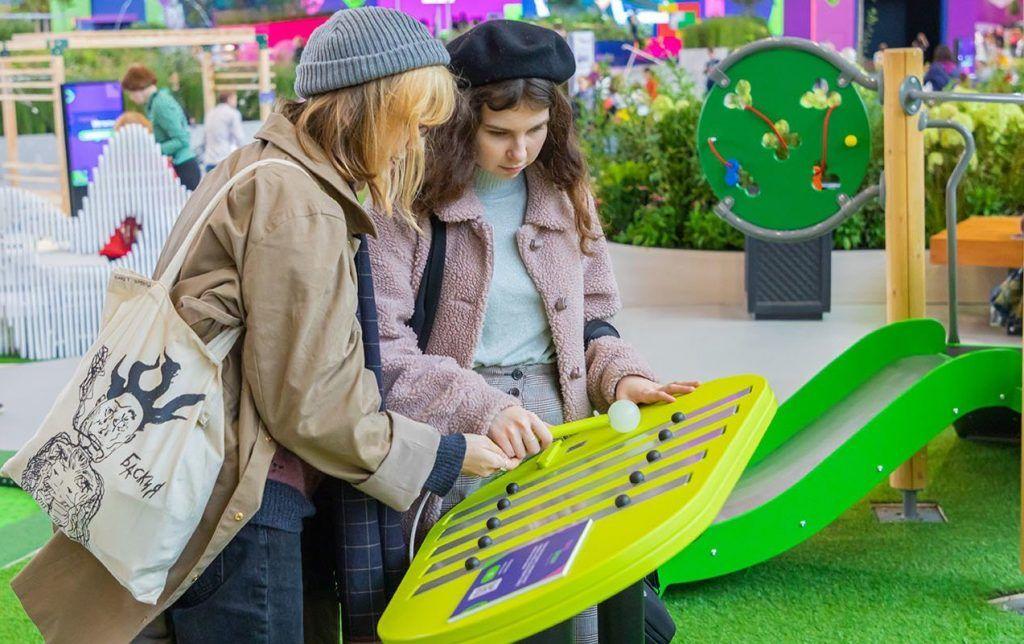 Более 90 игровых комплексов для детей представят на выставке «Город: детали». Фото: сайт мэра Москвы
