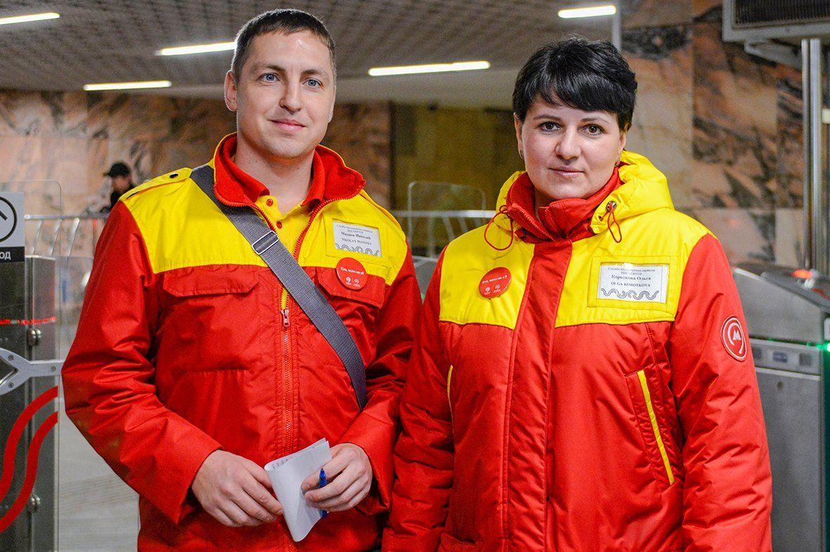 Более чем миллиону пассажиров помогли сотрудники столичного метро за семь лет